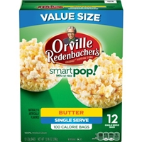Orville Redenbacher's Smartpop! Butter Single Serve Bags - 12 CT Food Product Image