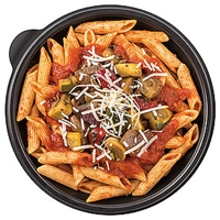 Wegmans Pasta Roasted Veggie With Penne And Seasoned Tomato Sauce Pasta Bowl Food Product Image