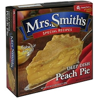 Mrs. Smith's Deep Dish Peach Pie Food Product Image