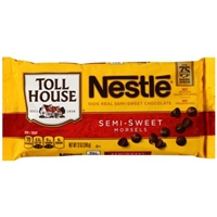 Nestle Toll House Semi-Sweet Chocolate Morsels Food Product Image