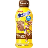Nestle Nesquik Chocolate Low Fat Milk Food Product Image