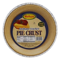 Mothers Pie Crust Graham Cracker Food Product Image