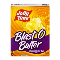 Jolly Time Popcorn Blast O Butter Ultimate Theatre Style Pack - 6 CT Food Product Image