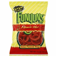 Funyuns Flamin' Hot Onion Rings Food Product Image