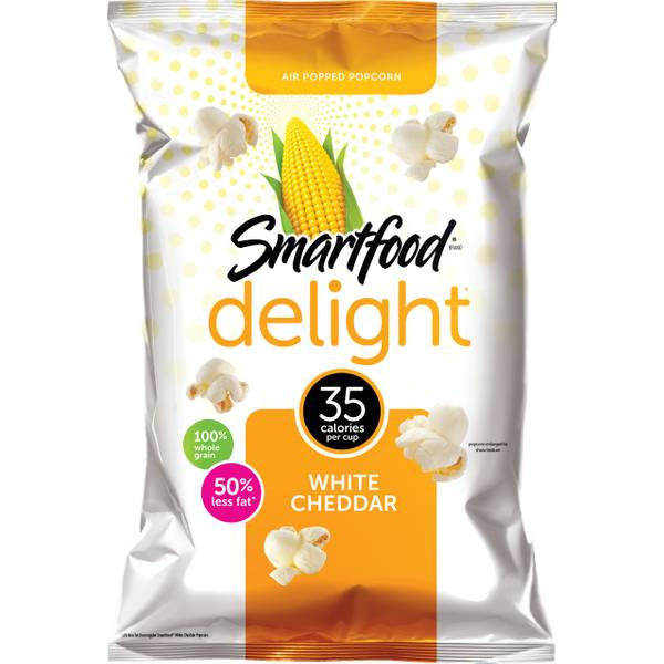 Smartfood Delights White Cheddar Popcorn Food Product Image