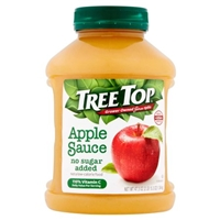 Tree Top Natural Apple Sauce Food Product Image
