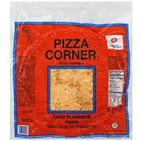 Pizza Corner Pizza Taco Flavored, 13 Inch Food Product Image