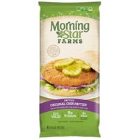 MorningStar Farms Veggie Original Chik Patties Food Product Image