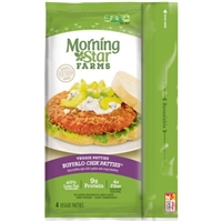 Morningstar Buffalo Chik Veggie Patties Food Product Image