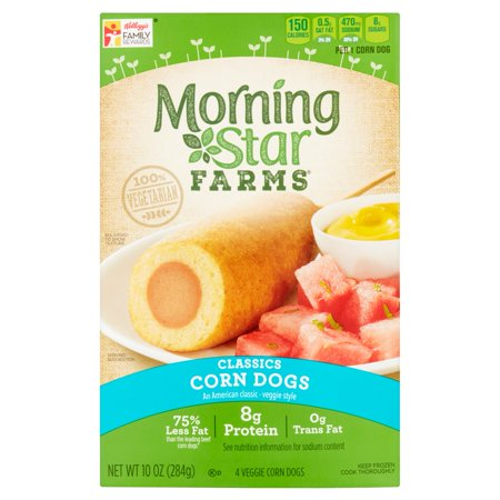 Morningstar Farms Veggie Corn Dogs - 4 Ct Food Product Image