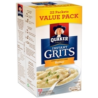 Quaker Grits Instant, Butter, Value Pack Product Image