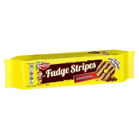 Keebler Fudge Stripes Cookies Original Food Product Image
