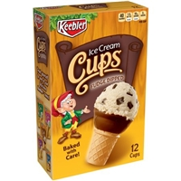Keebler Fudge Dipped Ice Cream Cones Food Product Image