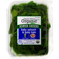 Taylor Farms Organic Baby Kale & Spinach Food Product Image
