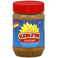 Sunbutter Spread Creamy Sunflower Seed 16 Oz Food Product Image