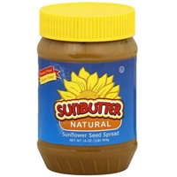 Sunbutter Spread Natural Sunflower Seed 16 Oz Food Product Image