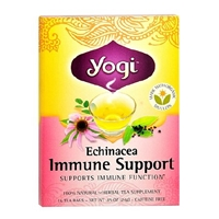 Yogi Herbal Tea Bags Echinacea Immune Support,96 pk Food Product Image