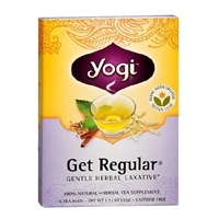 Yogi Herbal Tea Bags Get Regular,96 pk Food Product Image