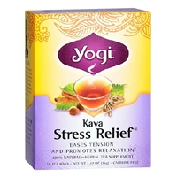 Yogi Herbal Tea Bags Kava Stress Relief,96 pk Food Product Image