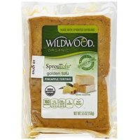 Wildwood Organic SprouTofu Pineapple Teriyaki Golden Tofu Food Product Image
