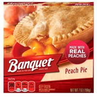 Banquet Peach Pie Food Product Image