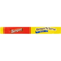 Banquet Brown 'N Serve Fully Cooked Beef Sausage Links - 10 CT Food Product Image