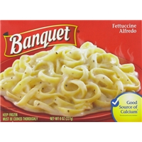 Banquet Fettuccine Alfredo Food Product Image