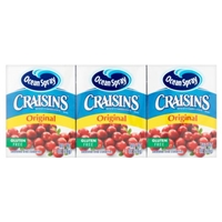 Ocean Spray Craisins Dried Cranberries Original - 6 CT Food Product Image