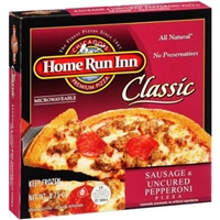 Home Run Inn Classic Sausage & Uncured Pepperoni Pizza Food Product Image