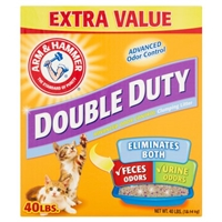 Arm & Hammer Double Duty Advanced Odor Control Clumping Cat Litter Food Product Image