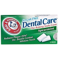 Arm & Hammer Baking Soda Gum Sugar Free, Spearmint Food Product Image