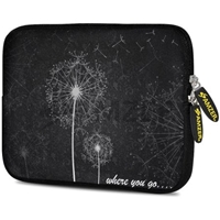 Designer 7.75 Inch Soft Neoprene Sleeve Case Pouch for Samsung Galaxy Tab A 7.0 2016, Samsung Galaxy J Max, Samsung Galaxy Tab 3 Lite 7.0, Samsung Galaxy Tab 4 7.0 - Dandilions Food Product Image