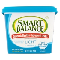 Smart Balance Buttery Spread Light With Flaxseed Oil Food Product Image