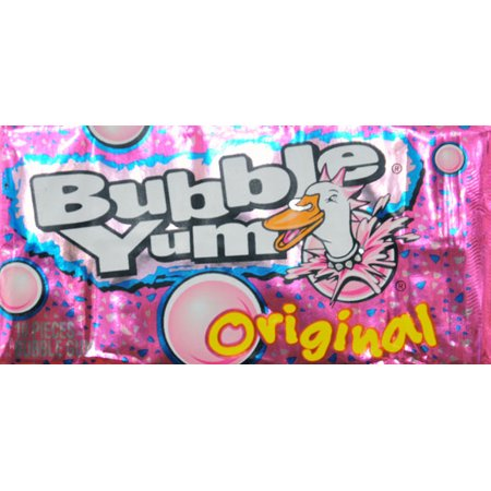 BUBBLE YUM Bubble Gum (Original) Food Product Image