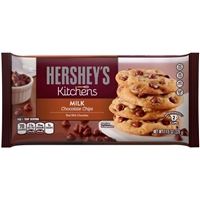 Hershey's Kitchens Milk Chocolate Chips Food Product Image