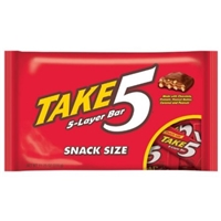 TAKE5 Snack Size Bars, 11.25-Ounce Packages Food Product Image