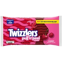 Twizzlers Cherry Pull 'N' Peel Candy Food Product Image