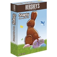 Hershey's Solid Milk Chocolate Snap-A-Part Bunny Food Product Image