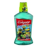Colgate Kids Teenage Mutant Ninja Turtles Anticavity Fluoride Rinse Bubble Fruit Food Product Image