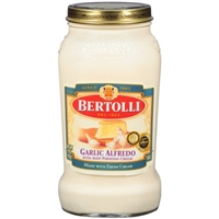 Bertolli Garlic Alfredo Sauce Food Product Image