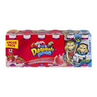 Dannon Danimals Smoothie Value Pack Strawberry Explosion / Wild Watermelon - 12 CT Food Product Image