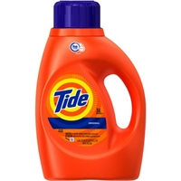 Tide He Original Scent Liquid Laundry Detergent 50 Fl Oz Food Product Image