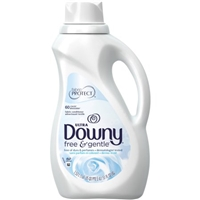 Ultra Downy Free & Sensitive Unscented Fabric Softener - 60 Loads Food Product Image