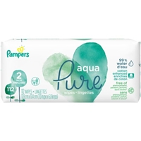Pampers Aqua Pure Wipes Food Product Image
