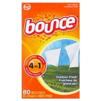 Bounce Outdoor Fresh 4In1 Fabric Softener Sheets - 80 Ct Food Product Image
