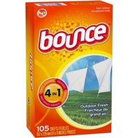 Bounce Outdoor Fresh Dryer Sheets Food Product Image