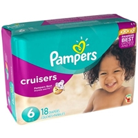 Pampers Cruisers Sesame Street Diapers Size 6 - 18 CT Food Product Image