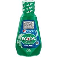 Crest Scope Outlast Mouthwash, 1.2 fl oz Food Product Image