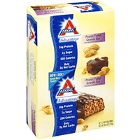 Atkins Advantage Granola Bars Peanut Fudge 12 Ct Food Product Image