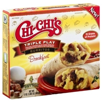 Chi Chis Burritos Breakfast, Triple Play Food Product Image